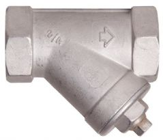 Stainless Steel Inline Filter - 3/4
